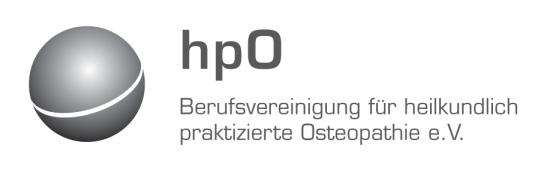 hpO – Berufsvereinigung für heilpraktisch praktizierte Osteopathie e.V.